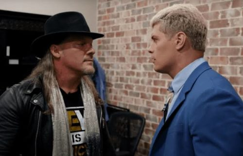 Cody Rhodes congratulates Jericho for completing 30 years in wrestling