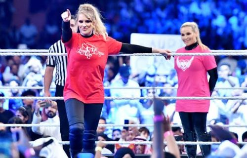 Natalya reveals what Lacey Evans gifted her after a match