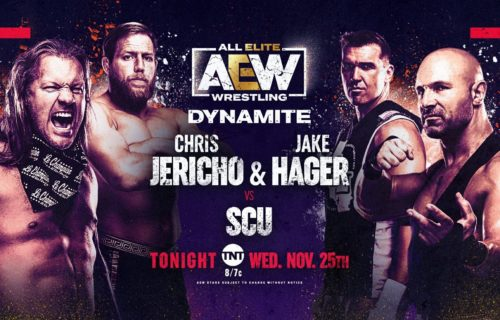 AEW Dynamite results November 25: Thanksgiving Eve show