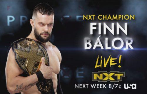 Finn Balor's return, women's title match set for WWE NXT on 11/18