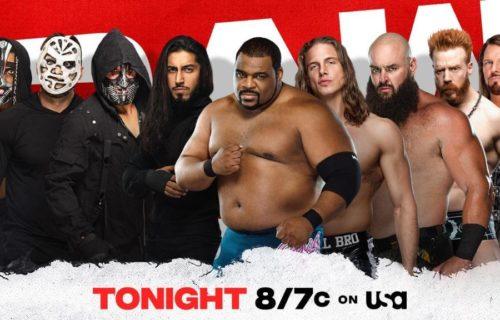 "Big 8-man tag match added to Survivor Series ""go-home"" Raw"