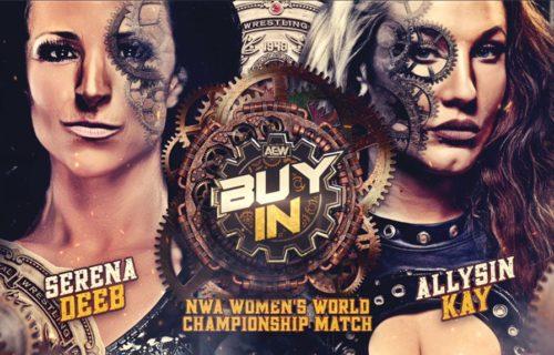 NWA World Women's Title Match added to AEW Full Gear Buy-In