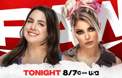 Nikki Cross vs Alexa Bliss scheduled for Monday Night RAW