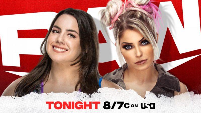 Alexa Bliss Nikki Cross Monday Night RAW