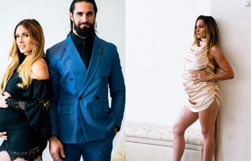 Recent photoshoot featuring pregnant Becky Lynch