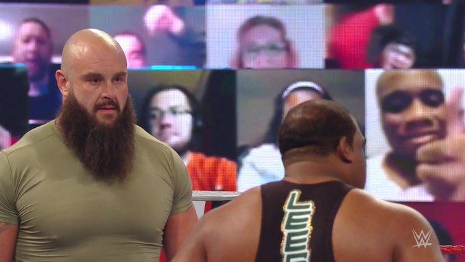 Braun Strowman Keith Lee WWE RAW