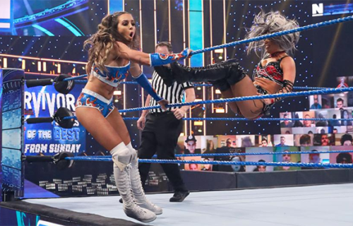 Chelsea Green suffered injury during Smackdown debut