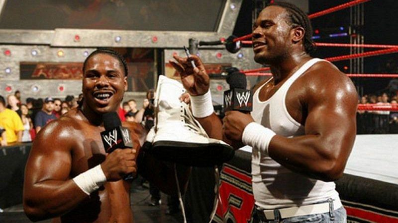 Cryme Tyme JTG Shad Gaspard WWE