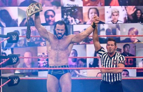 Possible reason why Drew McIntyre won WWE Title
