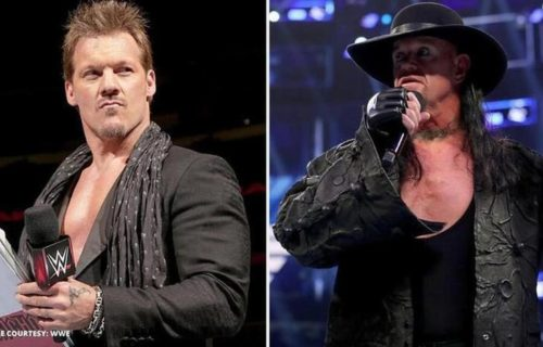 Chris Jericho recalls his first match with The Undertaker