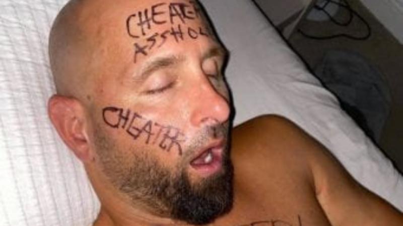 Karl Anderson cheat
