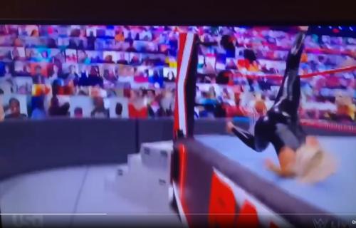 Nia Jax possibly legitimately injures Mandy Rose during WWE RAW