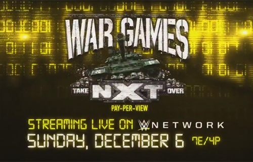 Title match made official for NXT TakeOver: WarGames