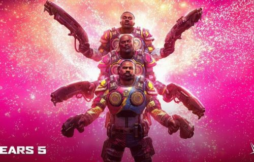 The New Day will be playable DLC characters in Gears 5 video game