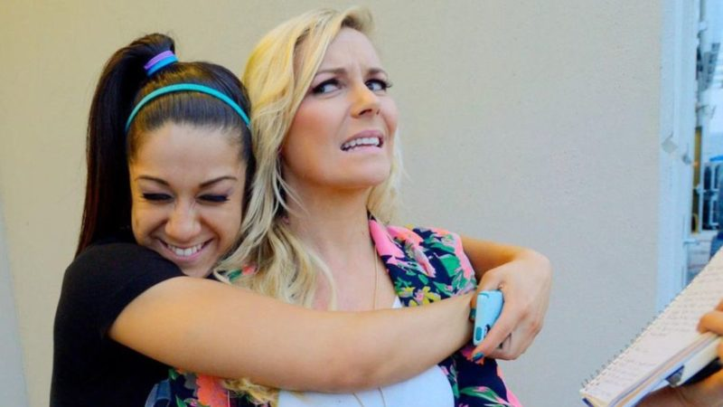 Renee Paquette and Bayley