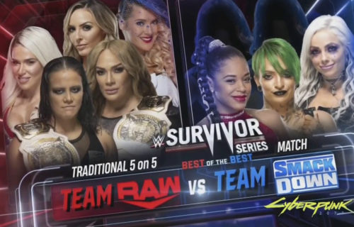 Peyton Royce and Lacey Evans join RAW Women's Survivor Series team