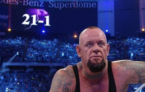 The Undertaker wanted someone else to end his WrestleMania streak
