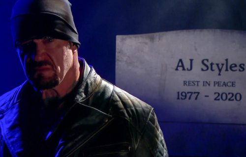 The Undertaker hails AJ Styles as the 'modern day Shawn Michaels'