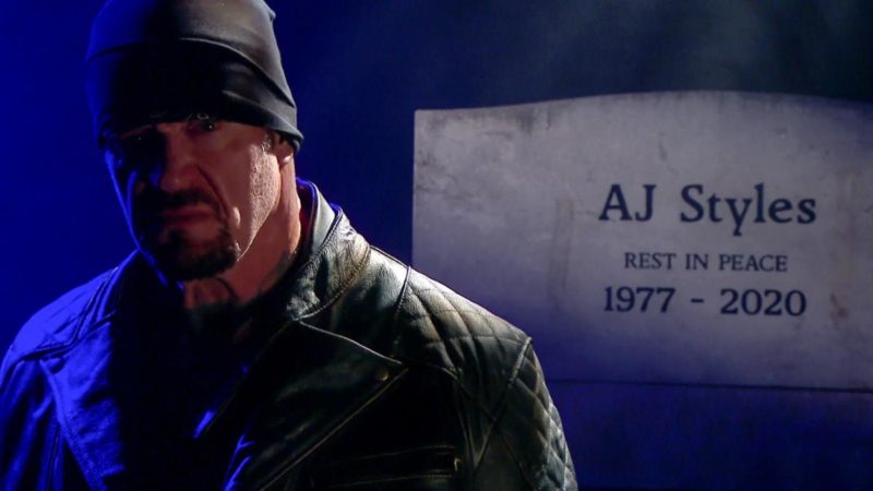 The Undertaker - Boneyard Match