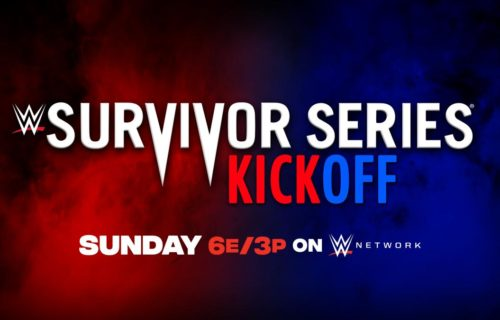 Dual branded battle royal made official for Survivor Series kickoff show