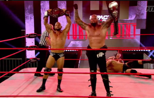 Luke Gallows & Karl Anderson win Impact Tag Team Titles