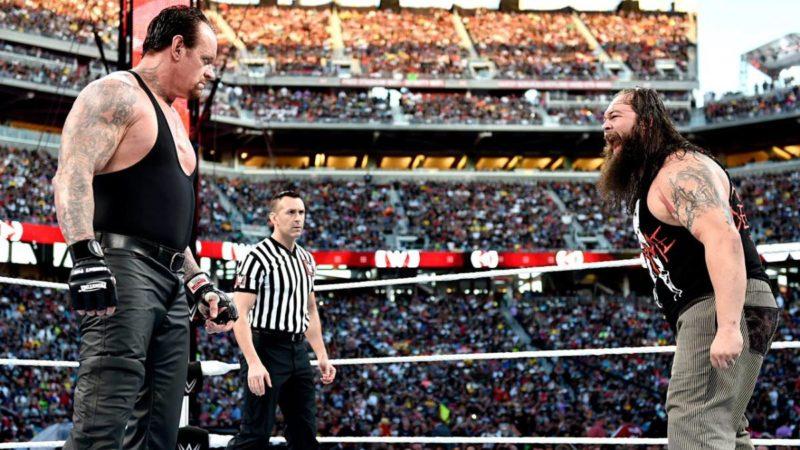 The Undertaker Bray Wyatt