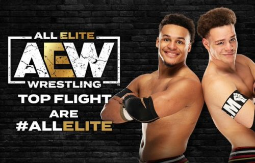 All Elite Wrestling has announced the signing of Top Flight