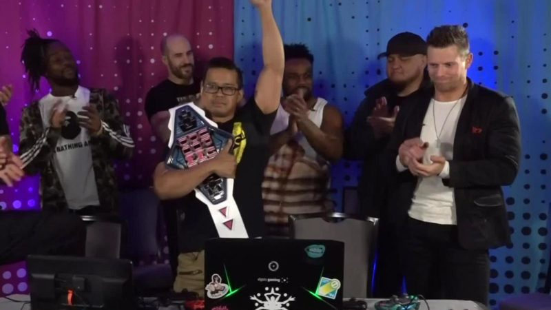 Up-Up-Down-Down-Championship-2019-Wrestlemania-35-weekend-Mikaze
