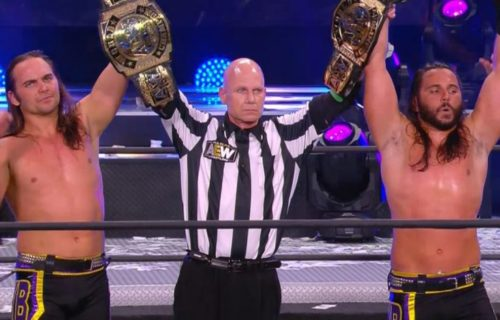 The Young Bucks are the new AEW World Tag Team Champions