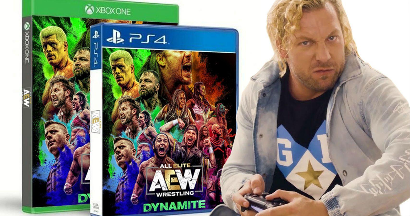 Omega el gran responsable del videojuego de AEW.