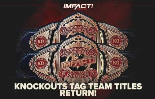Impact Knockouts tag team tournament brackets have been revealed