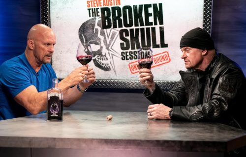 From beer to wine: Steve Austin and The Undertaker's wine tasting session