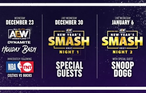 New dates for AEW's New Year's Smash specials announced