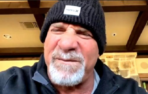 """Goldberg challenges Roman Reigns on WWE's The Bump: """"You're Next!"""""""