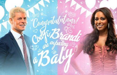Cody Rhodes reveals Brandi Rhodes is pregnant on AEW Dynamite
