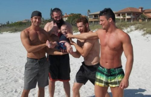 Sami Zayn shares funny beach day story in honor of Brodie Lee