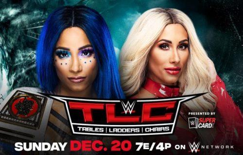 Sasha Banks vs. Carmella 2 title match added to WWE TLC 2020 PPV