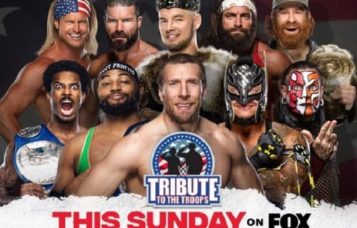 Three matches set for Sunday's WWE Tribute to the Troops special