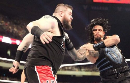 Kevin Owens and Roman Reigns still reminisce their match from the past