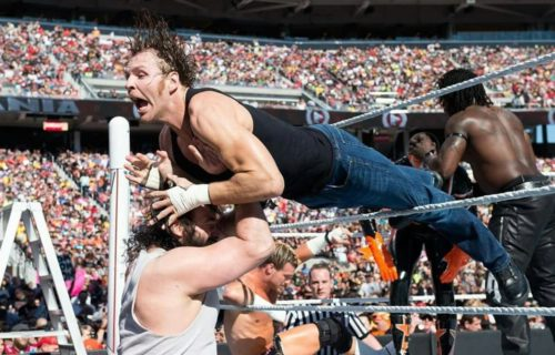 Jon Moxley reveals Vince McMahon's reaction to his WrestleMania 31 spot with Brodie Lee