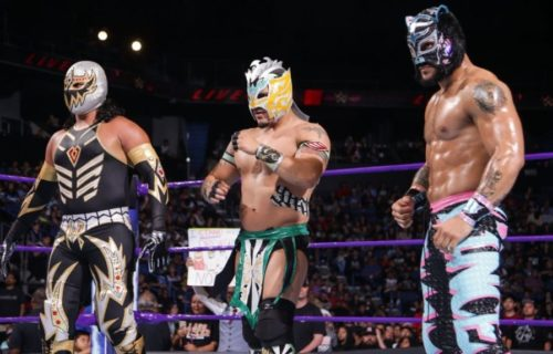 WWE is reportedly planning for a Lucha Libre Series