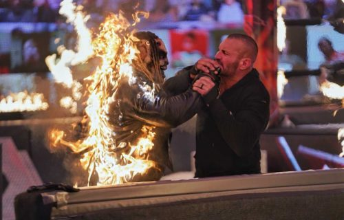 Backstage note on Firefly Inferno Match at WWE TLC