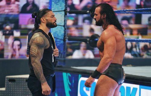 Drew McIntyre vs. Roman Reigns WWE Title Rumor Leaks