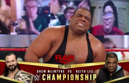Keith Lee to challenge for WWE Championship at RAW Legends Night