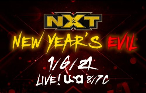 Huge matche announced for WWE NXT New Year's Evil