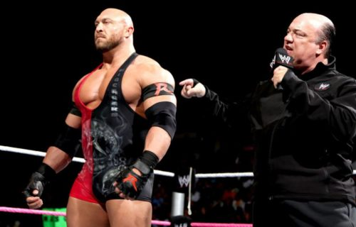 Ryback reveals he didn't want to align with Paul Heyman
