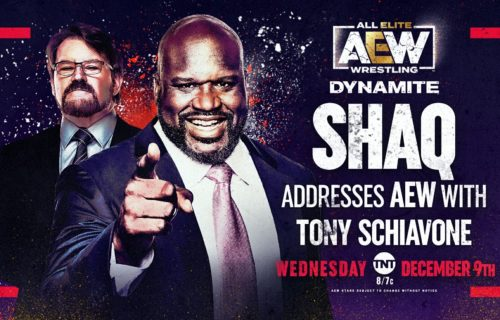 Shaquille O'Neal has been confirmed to appear on this week's AEW Dynamite