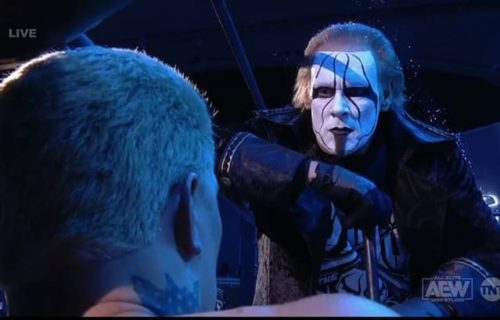 Sting to apparently wrestle in AEW