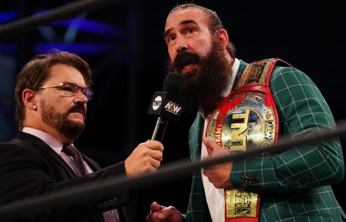 Tony Schiavone reveals AEW signed Brodie Lee Jr. to a contract