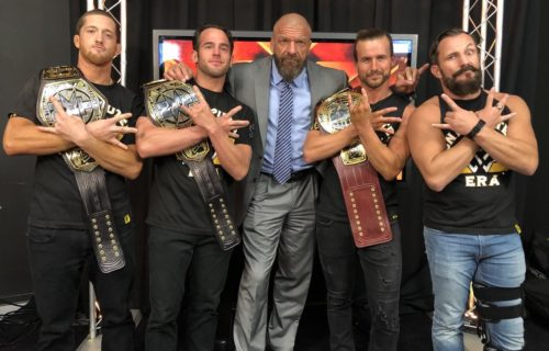 Triple H compares NXT's The Undisputed Era to iconic WWE faction